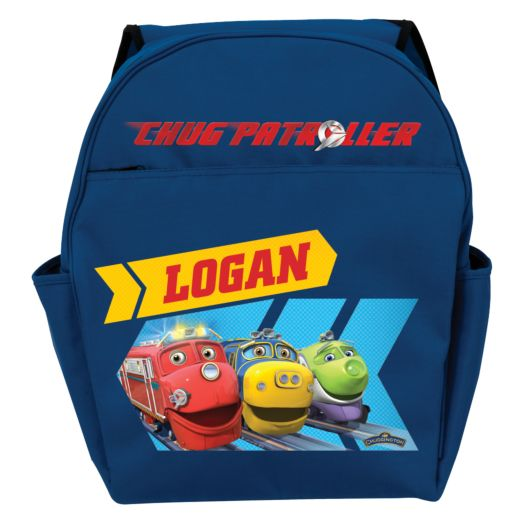 Chuggington Chug Patroller Blue Toddler Backpack