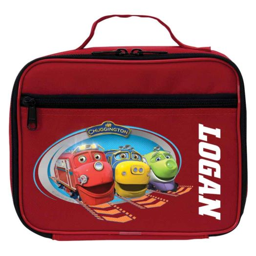 Chuggington Tracks Red Lunch Bag