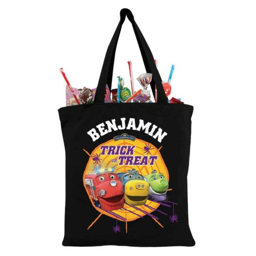 Chuggington Web Black Trick or Treat Bag