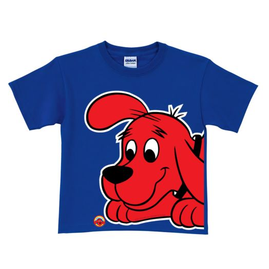 Clifford Close-Up Royal Blue T-Shirt