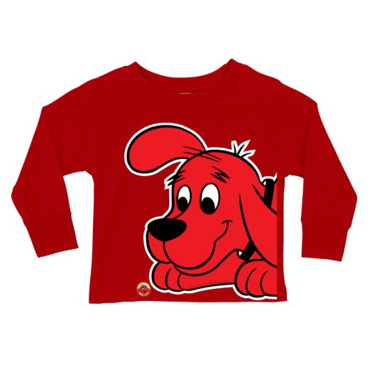 Clifford Close-Up Red Long Sleeve Tee
