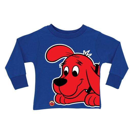 Clifford Close-Up Royal Blue Long Sleeve Tee