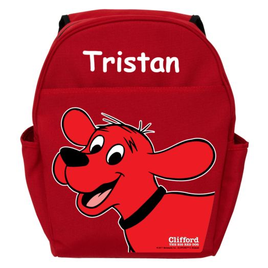 Clifford The Big Red Dog Red Toddler Backpack