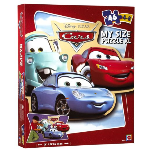 Disney Cars My Size 46-piece Puzzle
