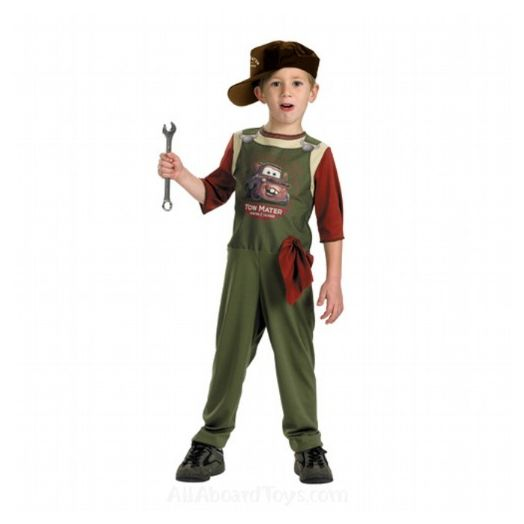 Disney Cars Tow Mater Mechanic Costume