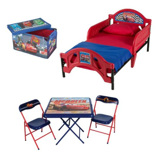 Disney Cars Room in a Box with Foldable Table and Chair Set