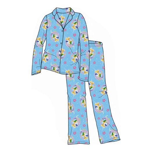 Disney Fairies Graceful Tinker Bell Girl's Pajamas
