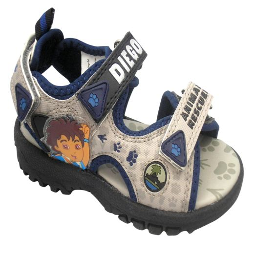 Go Diego Go! Black Infant Sandals