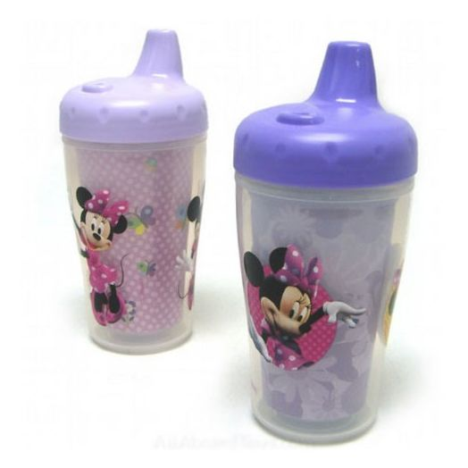Disney Mickey Mouse / Minnie Mouse 9 oz. Insulated Sippy Cup - 2 count