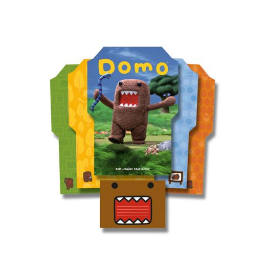 Domo Self Mailer Stationery