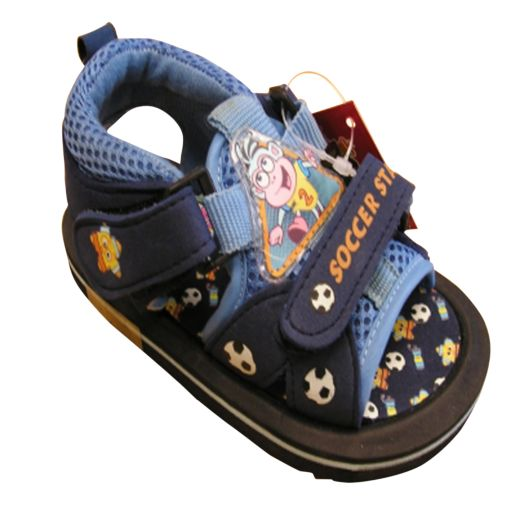 Dora the Explorer Navy Infant Sandals