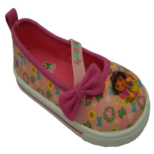 Dora the Explorer Pink Infant Canvas Shoes