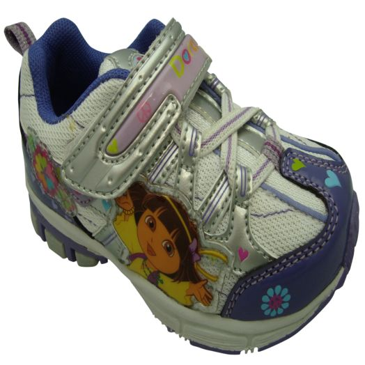 Dora the Explorer Infant Athletic Shoes with Hearts