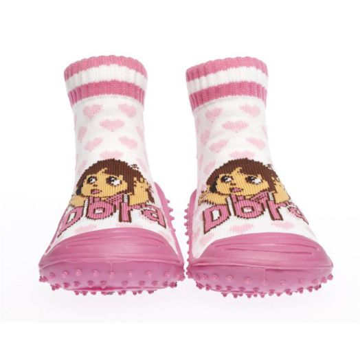 Dora the Explorer With Hearts Pink Skidders Shoes