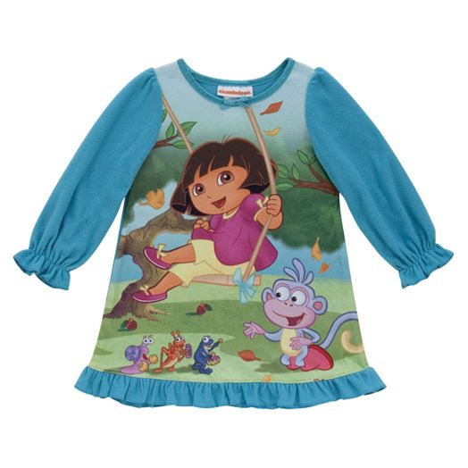 Dora the Explorer Toddler Girl's Fall Fiesta Nightgown