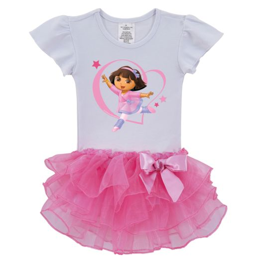 Dora the Explorer Dancer Tutu Tee