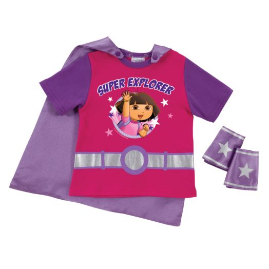 Dora the Explorer Super Explorer Pink Super Tee & Cuffs