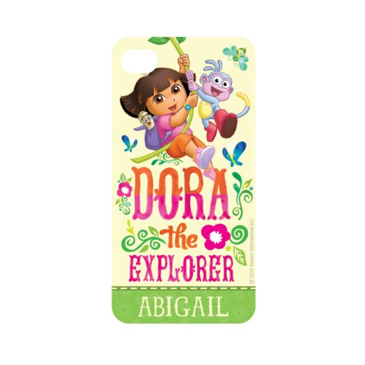 Dora the Explorer Flowers iPhone 4 Case