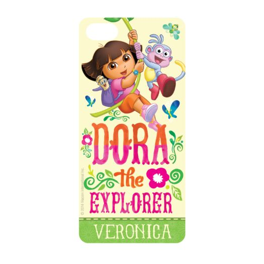 Dora the Explorer Flowers iPhone 5 Case