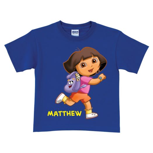 Dora the Explorer Running Royal Blue T-Shirt