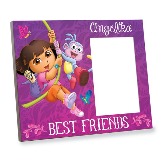 Dora the Explorer Butterflies and Best Friends Picture Frame