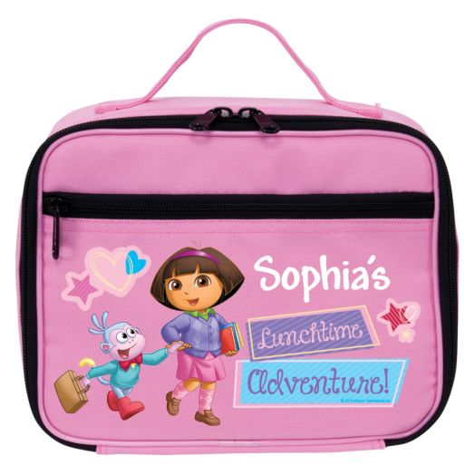 Dora the Explorer Lunchtime Adventure Pink Lunch Bag