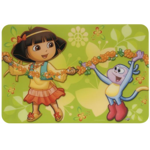 Dora with Boots Flower Garland Placemat