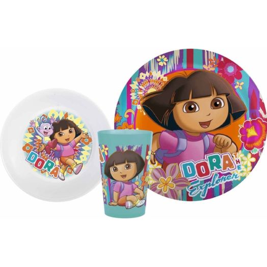Dora 3-Piece Dinnerware Set