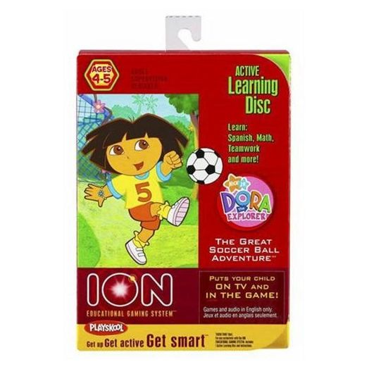 Dora the Explorer Great Soccer Ball Adventure Ion Game
