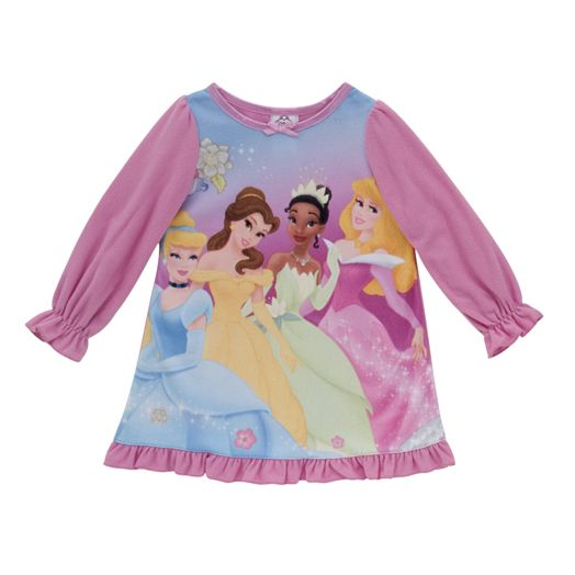Disney Princess Toddler Girls' Royal Nightgown