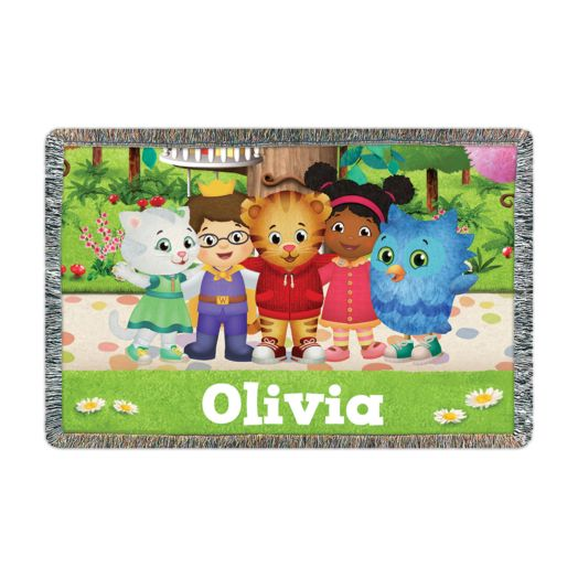 Daniel Tiger's Neighborhood Group Throw
