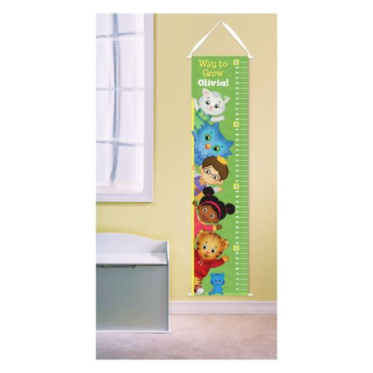 Daniel Tiger's Neighborhood Growth Chart