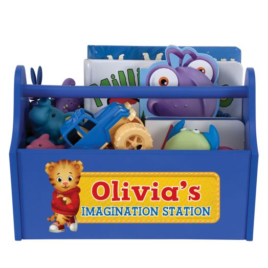 Daniel Tiger's Neighborhood Blue Toy Caddy