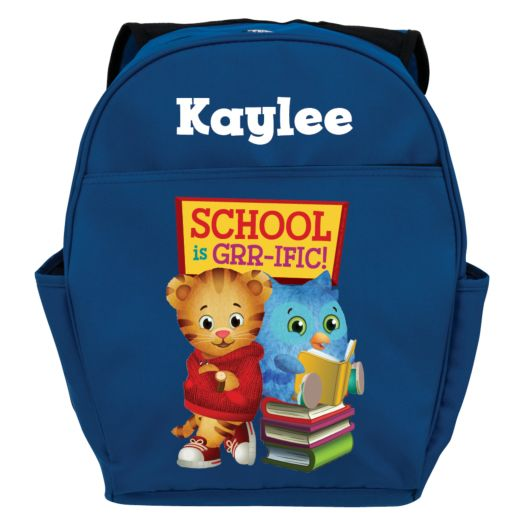 Daniel Tiger's Neighborhood Daniel & O Blue Toddler Backpack