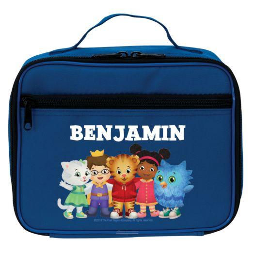Daniel Tiger's Neighborhood Group Blue Lunch Bag