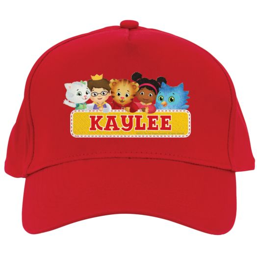 Daniel Tiger's Neighborhood Group Red Baseball Hat