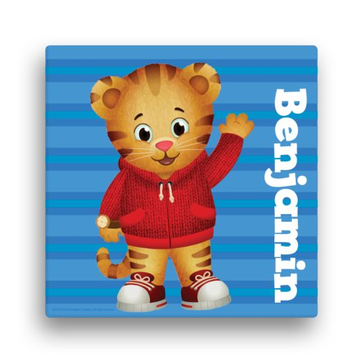 Daniel Tiger's Neighborhood Hello Daniel 12x12 Canvas Wall Art