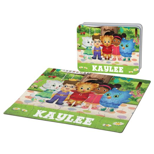 Daniel Tiger's Neighborhood Friends Puzzle & Gift Tin