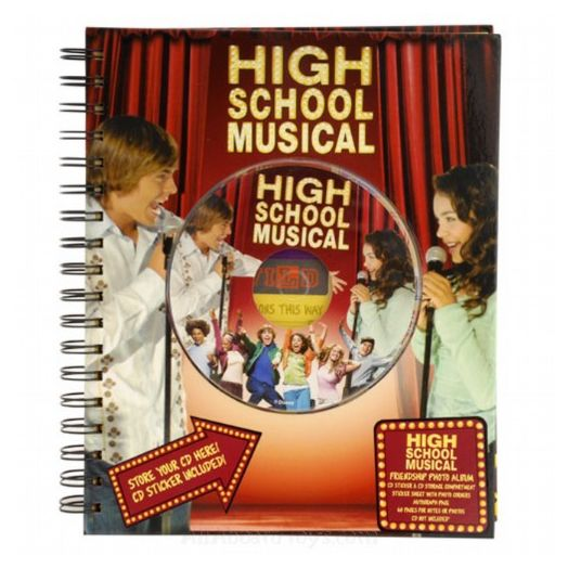 High School Musical Friendship Photo Album and Stickers