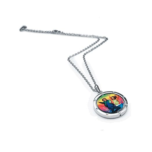 High School Musical Spinning Disk Necklace