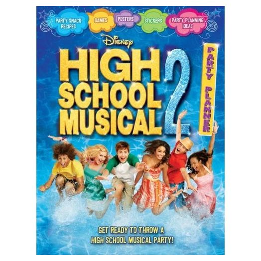 High School Musical 2 Party Planner Book