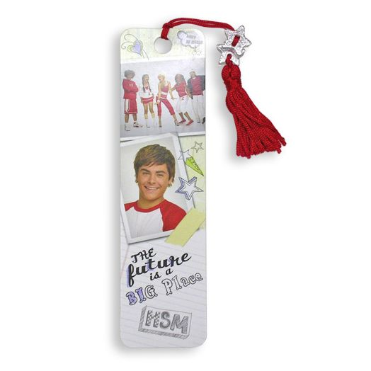 High School Musical 2 Red Tassel Beaded Bookmark