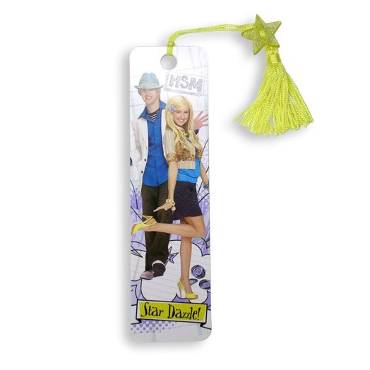 High School Musical 2 Yellow Tassel Beaded Bookmark