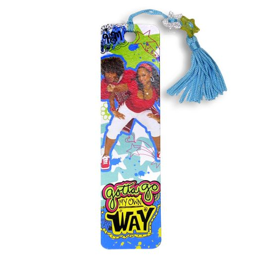 High School Musical 2 Blue Tassel Beaded Bookmark