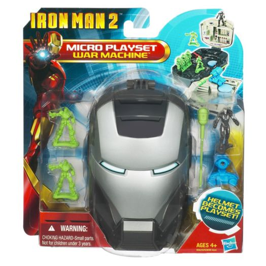 Iron Man Micro Head War Machine