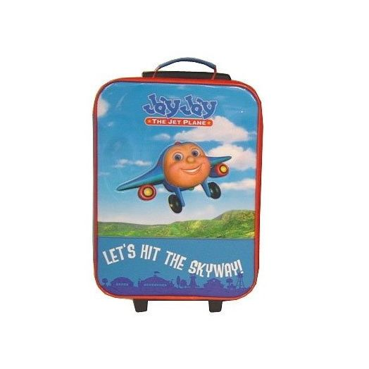 Jay Jay the Jet Plane Lets Hit the Skyway Pullcase Luggage