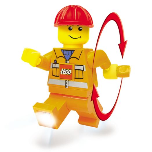 LEGO Construction Worker Dynamo Torch