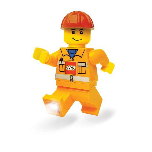LEGO Construction Worker Torch