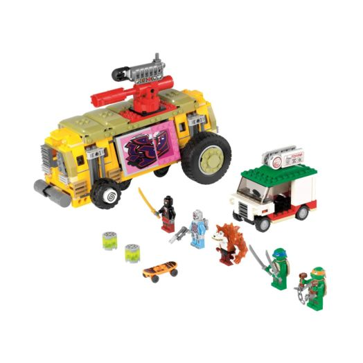 LEGO Teenage Mutant Ninja Turtles The Shellraiser Street Chase - 79104