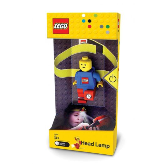 LEGO Blue Figure Head Lamp